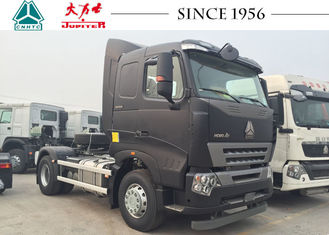 HOWO A7 4X2 6 Wheeler Truck , Durable Tractor Trailer Unit Large Load Capacity